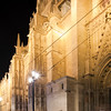 West facade of Santa Maria de la Sede Cathedral, Seville, Spain