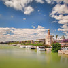Torre del Oro and Guadalquivir river, Seville, Spain