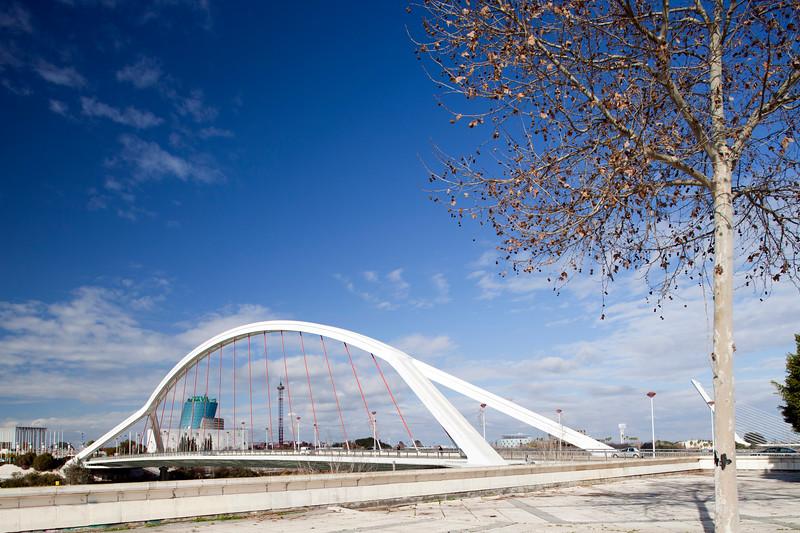 Barqueta bridge, Seville, Spain