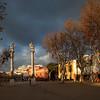 Alameda de Hercules square, Seville, Spain