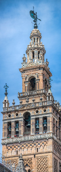 Belfry of the Giralda Tower, Seville, Spain