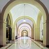 Corridor, University of Seville (former Royal Tobacco Factory), Spain