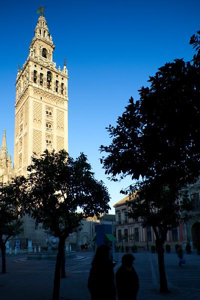 The Giralda Towe, Seville, Spain