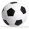 Traditional Black and White Soccer Ball Isolated on White Background