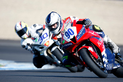 Motorbike race, circuit of Jerez de la Frontera, province of Cadiz, autonomous community of Andalusia, southern Spain.