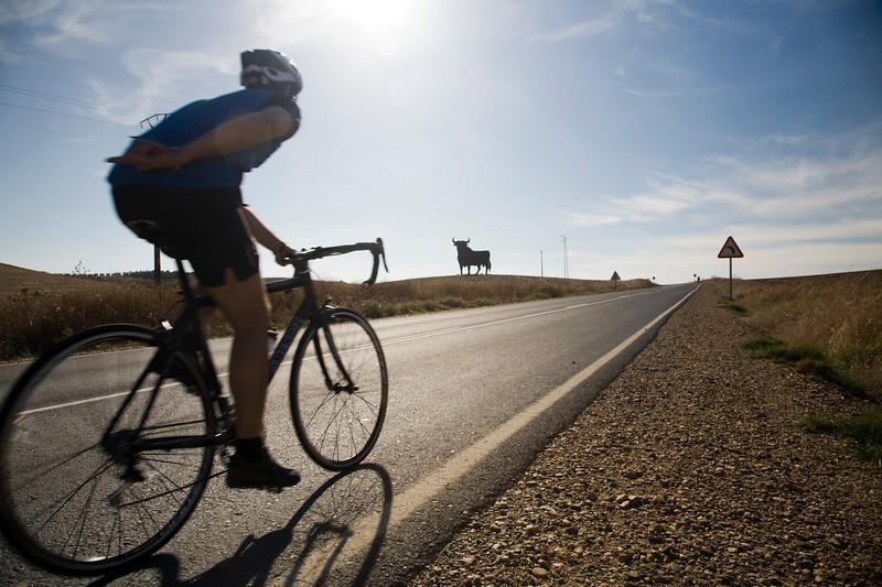 Cyclist, Spain