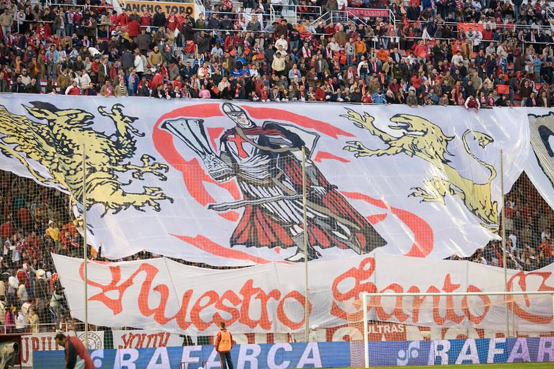 Tifo by Sevilla FC fans