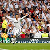 Cristiano Ronaldo asking for the ball, UEFA Champions League Semifinals game between Real Madrid and FC Barcelona, Bernabeu Stadiumn, Madrid, Spain