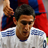 Close up of Di Maria, UEFA Champions League Semifinals game between Real Madrid and FC Barcelona, Bernabeu Stadiumn, Madrid, Spain