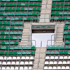 Empty stands. Taken before the local derby between Real Betis and Sevilla FC which took place at Ruiz de Lopera stadium, Seville, Spain, on 11 May 2008.