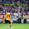Iker Casillas about to perform a goal kick. Spanish League game between Sevilla FC and Real Madrid, Sanchez Pizjuan Stadium, Seville, Spain, 4 October 2009