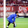 Andres Palop, Sevilla FC goalkeeper. Spanish League game between Sevilla FC and Real Madrid, Sanchez Pizjuan Stadium, Seville, Spain, 4 October 2009