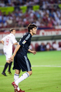Kaka. Spanish League game between Sevilla FC and Real Madrid, Sanchez Pizjuan Stadium, Seville, Spain, 4 October 2009