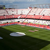 High resolution panorama of Sanchez Pizjuan stadium, Seville, Spain, 26 April 2009
