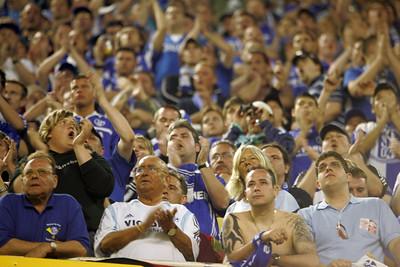 German fans of Schalke 04