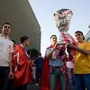 Sevilla FC fans.