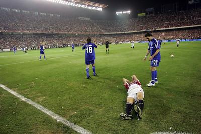 Martín on the ground