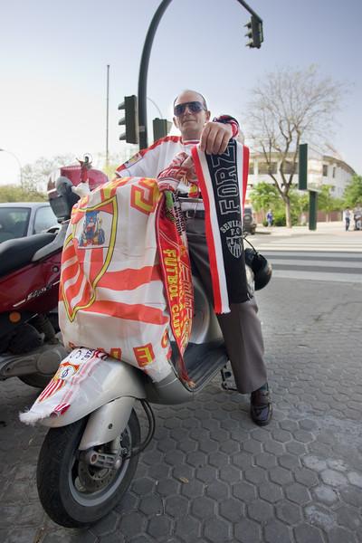 Sevilla FC fan.