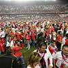 Taken during the second-leg game of UEFA Cup semifinals wich took place at Sanchez Pizjuan stadium, Seville, Spain, between the Spanish club Sevilla FC and the German one Schalke O4. Sevilla FC won 1-0 and reached the UEFA Cup Final, wich finally won too, for the first time in his centenarian history. 27 April 2006.