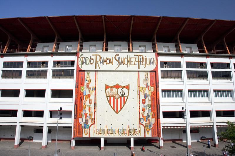 Sanchez Pizjuan stadium, belonging to Sevilla FC.