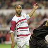 Kanoute and Chimbonda