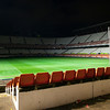 Empty stadium. Taken in the Sanchez Pizjuan stadium on 4 Feb 2009 after the King's Cup semifinal game between the football teams Sevilla FC and Athletic Club of Bilbao, town of Seville, autonomous community of Andalusia, southern Spain