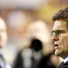 Fabio Capello, England's manager. Taken during the friendly football game between the national teams of Spain and England that took place in the Sanchez Pizjuan stadium, Seville, Spain, 11 Feb 2009.