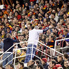 English fans fraternizing with Spanish ones. Taken during the friendly football game between the national teams of Spain and England that took place in the Sanchez Pizjuan stadium, Seville, Spain, 11 Feb 2009.