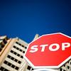 Stop sign, Seville, Spain