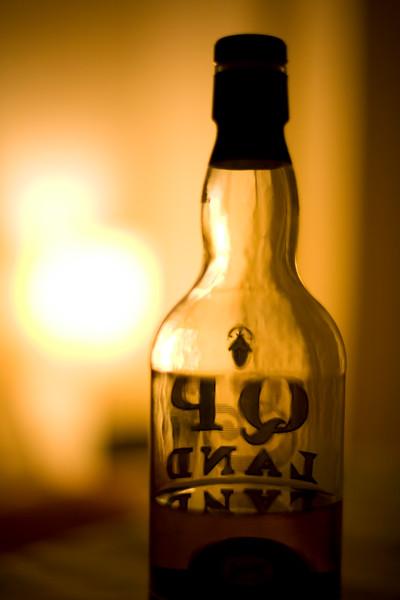 Whisky bottle, Seville, Spain