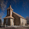 A country church built in 1881 by swedish settlers in the state of Colorado in the western United States. Now the property to the State of Colorado and noted as a historical site