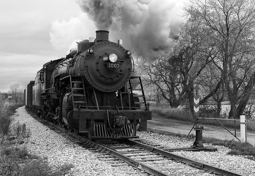 Soo Line 1003 (American Locomotive Company 2-8-2) - Williams, WI