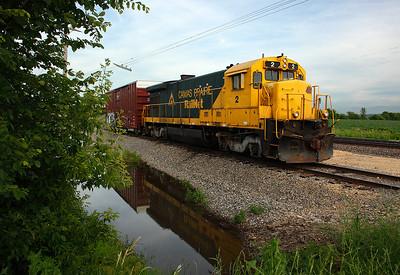 Camas Prairie Railnet 2 (GE B23-7)