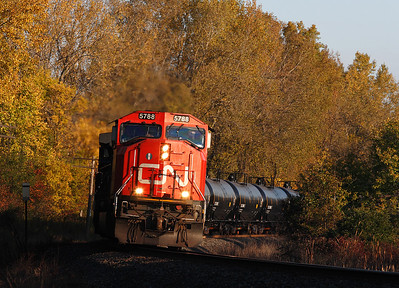 Canadian National 5788 (GMD SD75I) - Colgate, WI