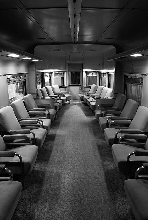 Chicago, Burlington and Quincy Railroad #300 (Sliver Spirit #300 – Diner, Parlor, Observation) – National Railroad Museum Green Bay, WI
