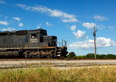 Illinois Central 6202 (EMD SD40-3) - Rugby Junction