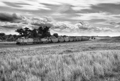 Union Pacific 5734 (GE AC44CCTE) - Brady, NE