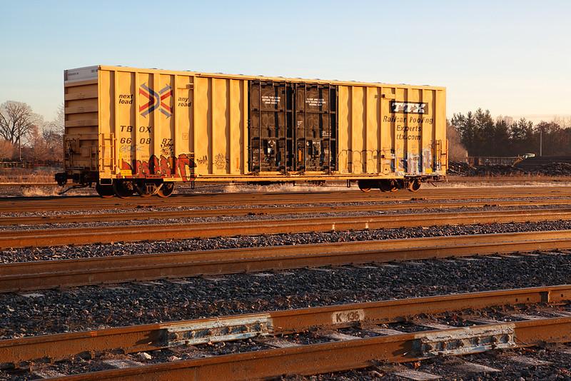TTX Boxcar - Altoona Yard