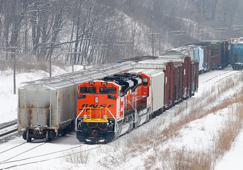 BNSF 9140 (SD70ACe) - Ackerville, WI