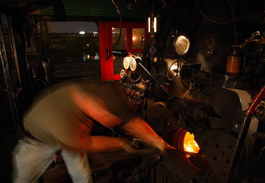 Fueling the Fire - Milwaukee Road 261 (American Locomotive Company 4-8-4)