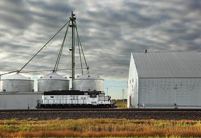 Western Rail Inc. 1616 (GP9) - Wood River, NE