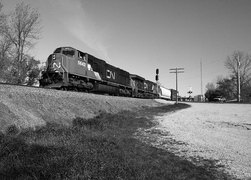 Canadian National 5642 (GMD SD75I) - Wayne, WI
