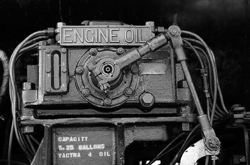 Engine Oil - Milwaukee Road 261 (American Locomotive Company 4-8-4)
