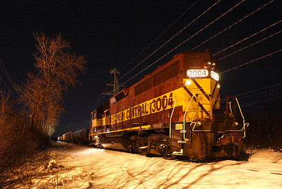 Wisconsin Central 3004 (EMD GP40) - Mequon, WI
