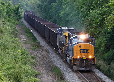 CSX 4545 (EMD SD70MAC) - Cedar Lake, WI
