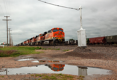 Burlington Northern Sante Fe 5908 (GE ES44AC) - Sterling, CO