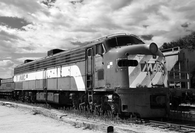 Maryland Area Rail Commuter 91 (EMD E9A) - Horicon, WI
