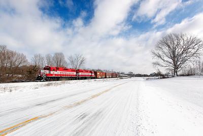 Wisconsin & Southern 3809 (EMD GP38AC) - Rubicon, WI