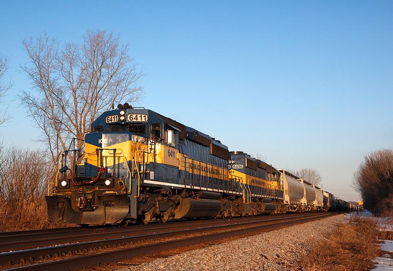 Iowa Chicago & Eastern 6144 (EMD GP40-2) - Brookfield, WI