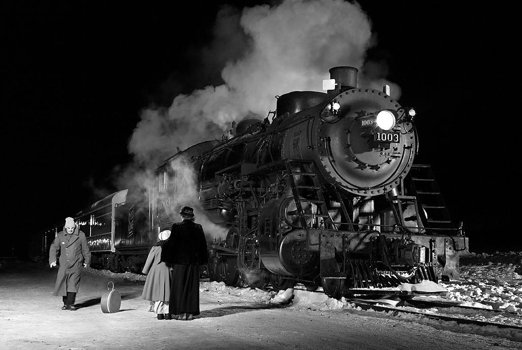 Soo Line 1003 (American Locomotive Company 2-8-2) - Plymouth, WI